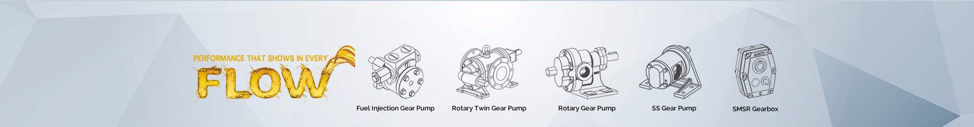 Rotary Twin Gear Pump